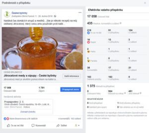 facebook reklamní kampaň